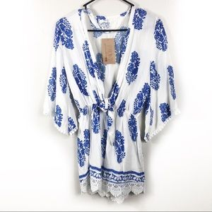 NWT Long Sleeve Romper Women's Size Small